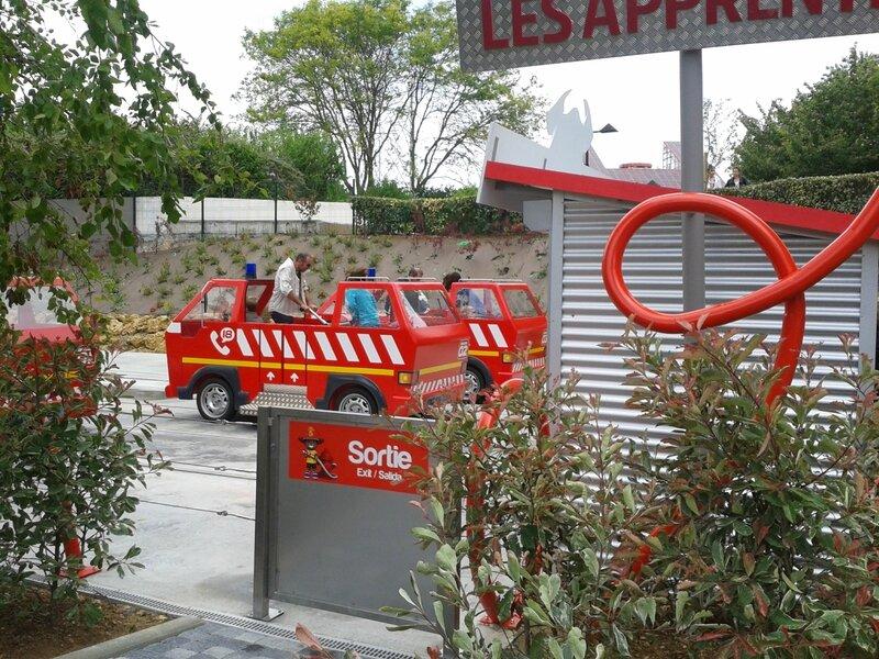 Les apprentis pompiers : sortie