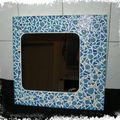 Miroir bleu galetsjap