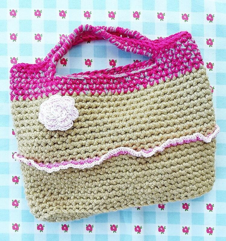 crochet bag vanillejolie