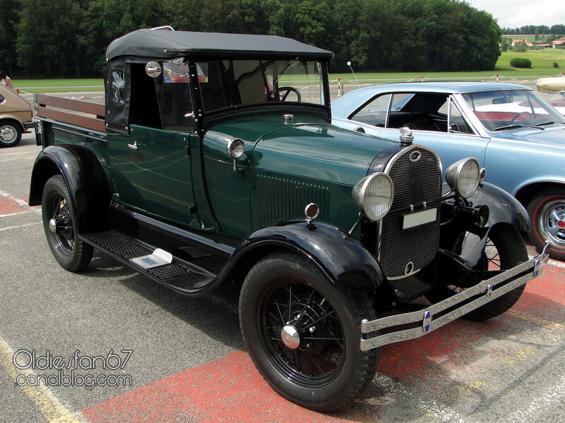 Ford model A roadster pickup 1928-1929-01