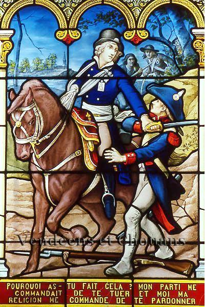 Vitrail de La Rochejaquelein