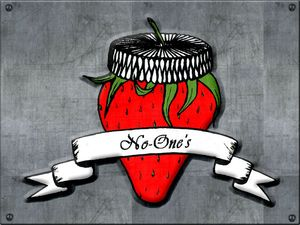 No-one's - Logo Fraise - Metal version (800x600)