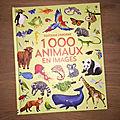 Nous avons découvert 1000 animaux en images (editions usborne)