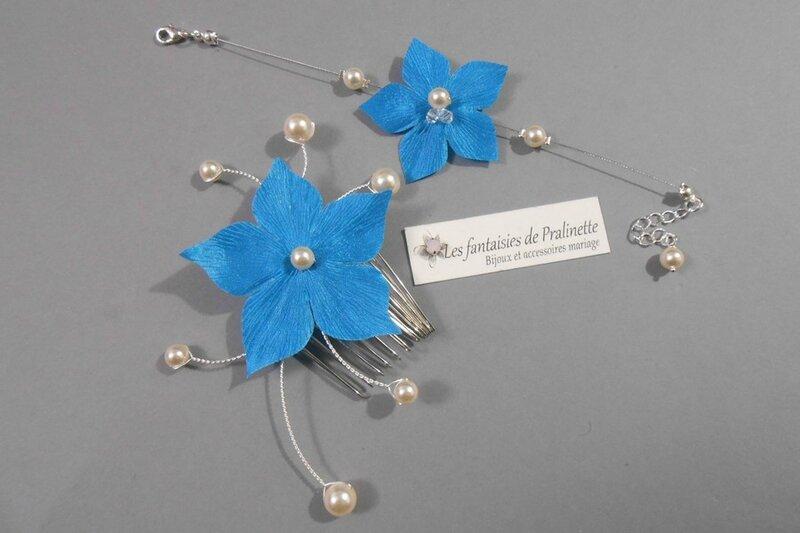 bijoux-mariage-fleur-lys-turquoise