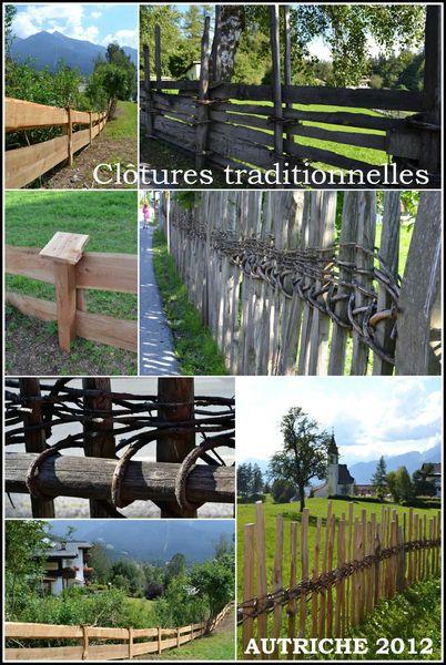 Clôtures traditionnelles Autriche 2012
