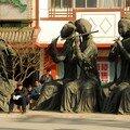 Statues de la porte de l'est