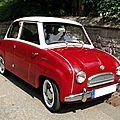 Glas goggomobil t sedan - 1955 à 1969