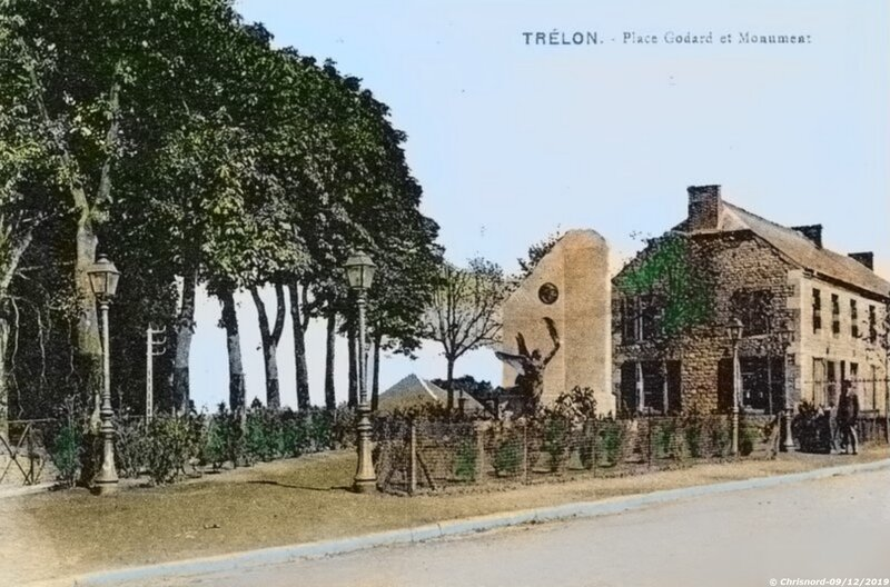 TRELON- Le Monument aux morts