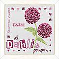 Lilipoints - le dahlia - *3*