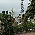 Barcelone : le park güell