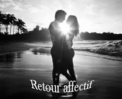 Rituel d'amour de retour d'affection