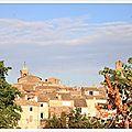 La balade estivale : lourmarin en provence