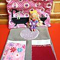 Pochette de voyage pour les petites poupées