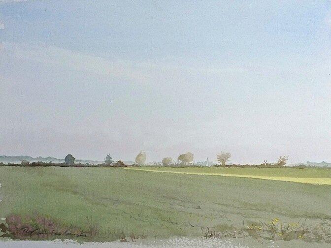 Richard_Vanlerberghe___Prairie_Sarthe_2011_31x23_cm