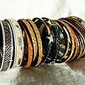 Métissage de bracelets