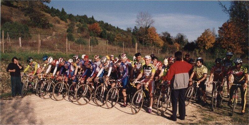 1993 Coursac départ des 56 coureurs