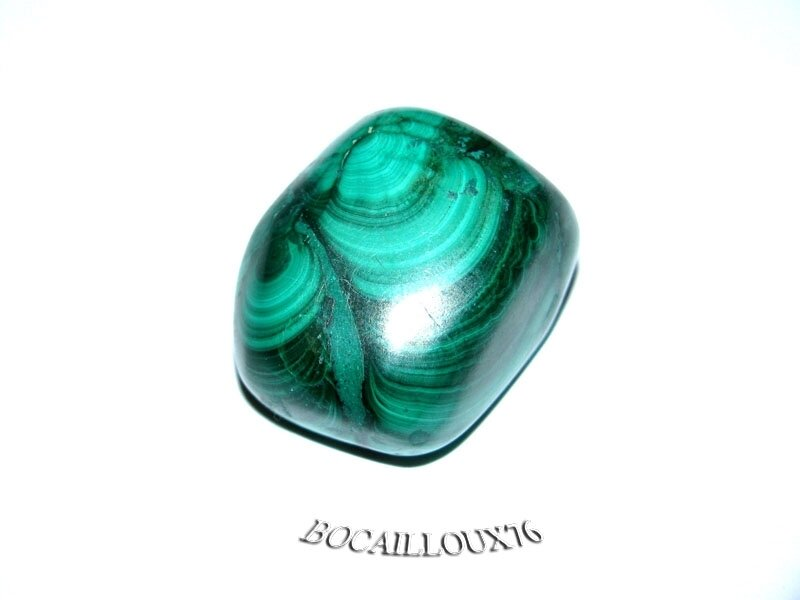 MALACHITE 5 Roulée - Pour CREATION - LITHOTHERAPIE