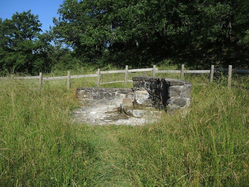 Drugeac, fontaine minérale