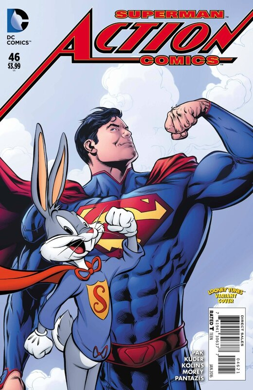 action comics 46 looney tunes variant