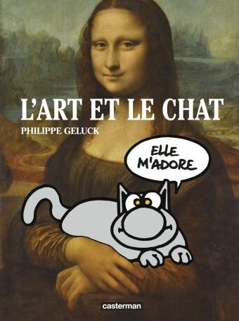 art et chat