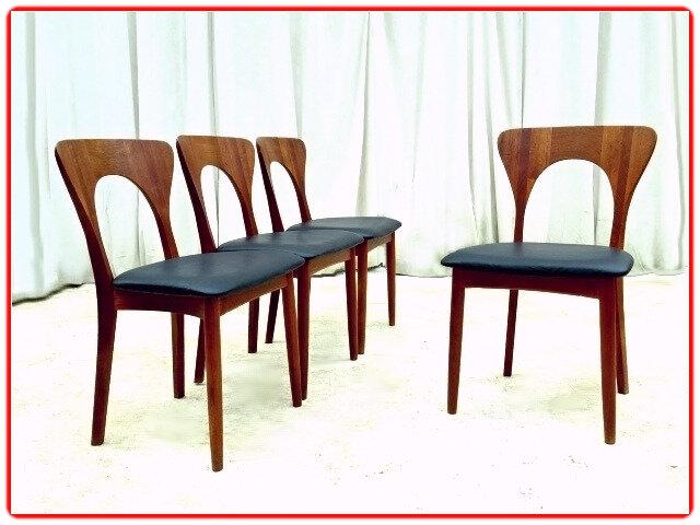 chaises danoises Niels Koeffoed