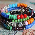 Des couleurs à vos bras ...