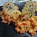 Risotto à la tomate et parmesan