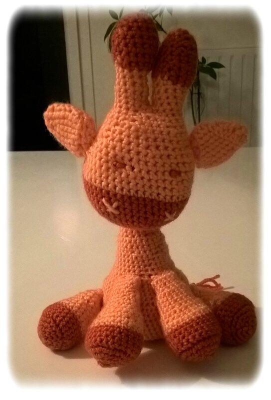 Girafe crochet
