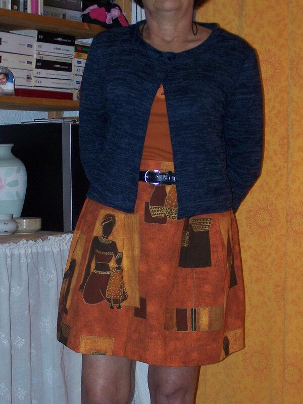 Cardigan Ester porté