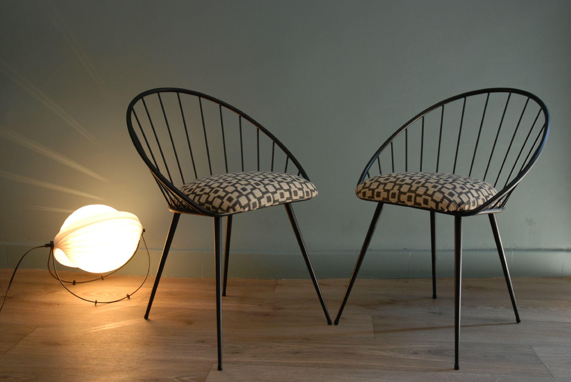 Chaise design annee 60