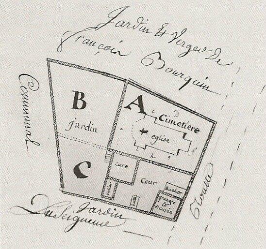 Plan 1741 ND du Haut Livre Ronchamp avant Le Corbusier R