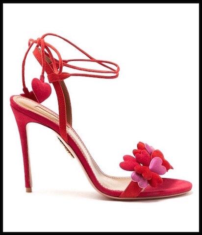 aquazzura sandales happy hearts 1