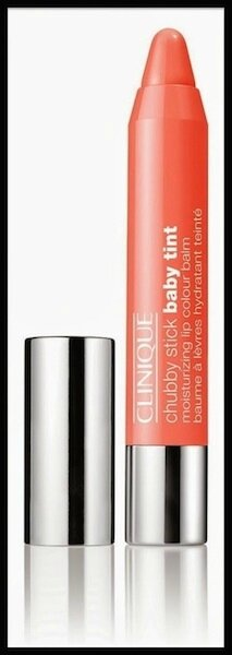 clinique chubby stick baby tint poppin poppy