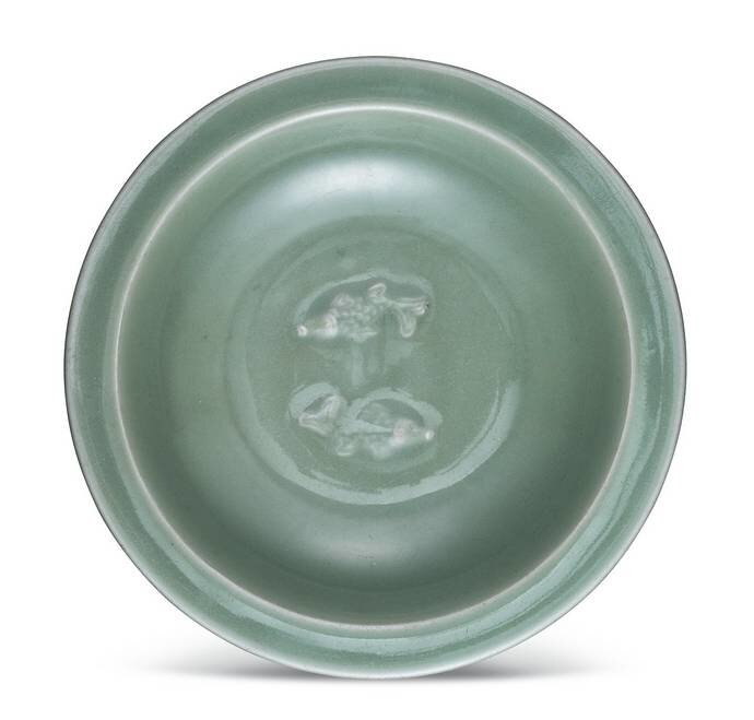 A__Longquan__celadon__twin_fish__dish__Southern_Song_dynasty