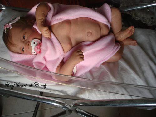bebe reborn plaque ventrale
