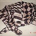 Foulard vintage de marque rhodia