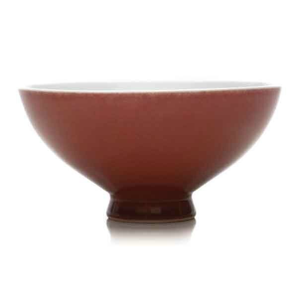 A Copper-Red Glazed Bowl, Qianlong Mark and of the Period