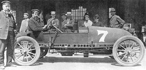 1904 circuit des ardennes, light car - rené hanriot (clément-bayard 30hp) dnf 4 laps