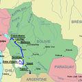 Parcours bolivien du 4 au 13 juin