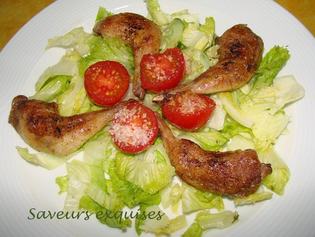 caille salade2