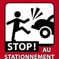 Stationnement génant