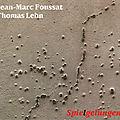 Jean-marc foussat- thomas lehn «spielgelungen»