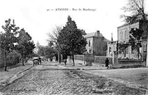 AVESNES-Rue de Maubeuge