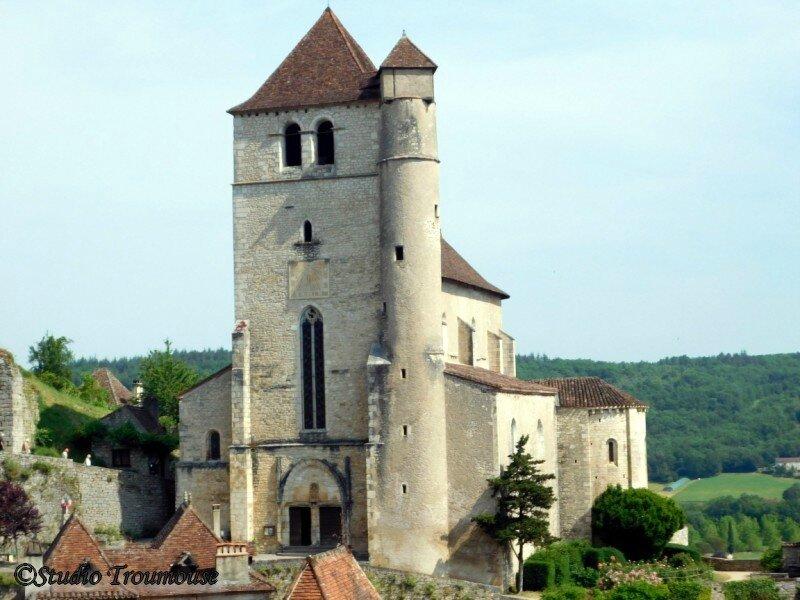 l'eglise St Cyr (1522)