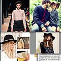 Le chapeau : l'accessoire incontournable cet hiver !
