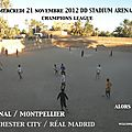 Manchester city ~ real madrid