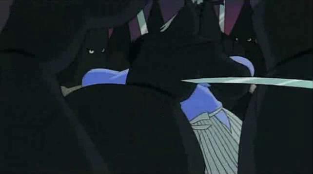 La seule apparition de Goemon dans les versions censurées…