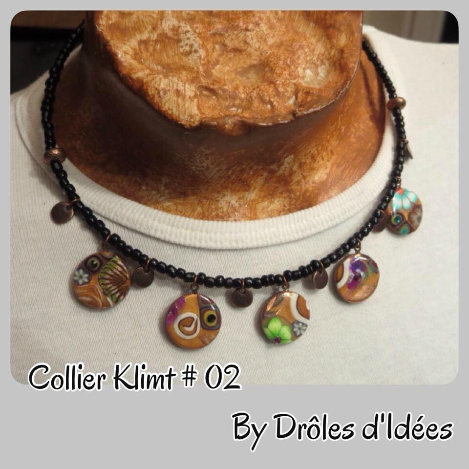 COLLIER KLIMT 2