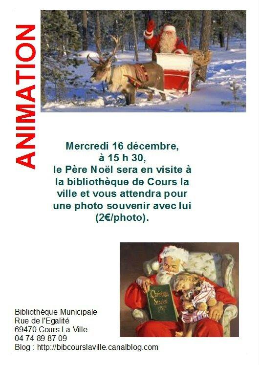 Affiche père noel blog