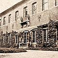 Trelon - le château des carmes en 1917 ***